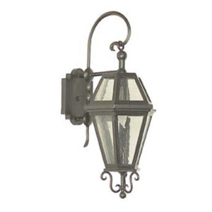 "Outdoor Iron Lantern  Anacapa 8"" Wall Bracket"