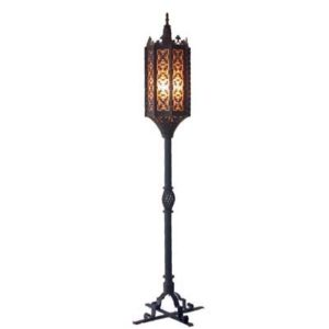 Wrought Iron Floor Lamp Ansario