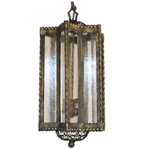 Iron Chandelier Abraxsas 11""