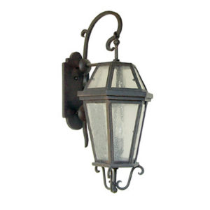 "Outdoor Iron Lantern Anacapa 10"" Wall Bracket"