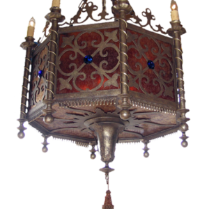 Iron Chandelier Ansario