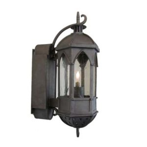 Wrought Iron Gas Light Byzantium W/B/gas/manual